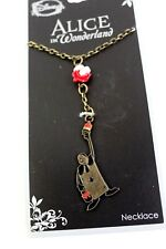 Disney Alice In Wonderland Painting The Roses Red Necklace