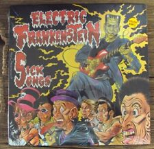 "ELECTRICK FRANKENSTEIN Sick Songs 10"" SEALED yellow vinyl late-90's punk Get Hip"