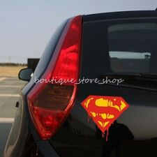 blood S Superman vehicle random body Motorcycle Truck car stickers wall Decals