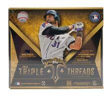 2016 Topps Triple Threads Factory Sealed Hobby Baseball Box