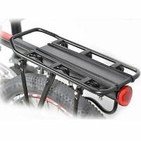 Bike Bicycle Back Rear Bag Pannier Rack Cycling Seat Post Frame Carrier Holder