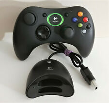 LOGITECH Cordless Controller for ORIGINAL XBOX Wireless + Dongle Receiver