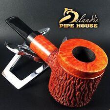 """EXCLUSIVE BALANDIS ORIGINAL Briar Handmade SMOKING PIPE """"Dwarf Lumberjack"""" Teak"""