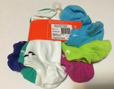 Nike SX4463 SX4464-956 3-pk No Show Performance Socks Assorted Color 3~5Y 5~7Y