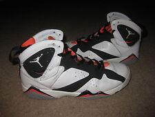 Nike Air Jordan 7 VII Retro 30th GG White Hot Lava Black 442960-106 Sz 9Y