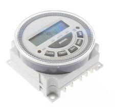 CN304 Digital LCD Wochen Programmierbar Timer Zeitschaltuhr 12V 5 Pin