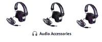 """Minelab RPG Metal Detector Headphones Dual Volume Control 1/4"""" Plug"""