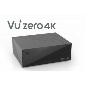 VU+ Zero 4K DVB-S2X Multistream Tuner Linux Enigma 2 Receiver UHD 2160p ,