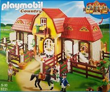 Playmobil 5221 Gro�Ÿer Reiterhof mit Paddocks Erscheinungsjahr2012 Neu Teile 486