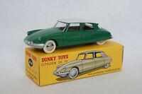 Dinky Toys Atlas 1/43 - Citroen DS 19 Verte