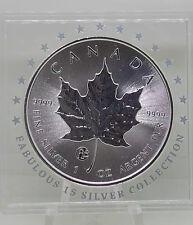 2016 f15 Privy Mark Canada Silver Maple Leaf 1 oz .9999 Silver Fabulous 15