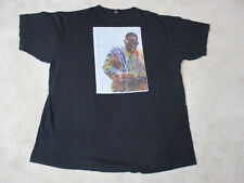 Notorious BIG Shirt Adult 6XL XXXXXXL Black Biggie Smalls Hip Hop Rap Tee Mens *