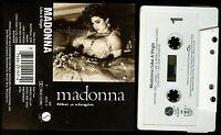 Madonna Like A Virgin USA Cassette Tape