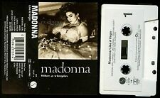 Madonna Like A Virgin USA Cassette Tape