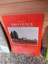Provence, Cote d'Azur - Camargue - Süd-Alpen, eine Broschüre
