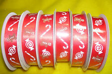 "LOT OF 18 YARDS OF GINGERBREAD RIBBON, 5/8"" WIDE, NEW"