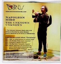 (BO821) Napoleon IIIrd, The Unknown Unknown - 2011 DJ CD
