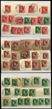 GB KE8 1936-37 COLLECTION 70 stamps BERKSHIRE WILTSHIRE OXON...POSTMARKS