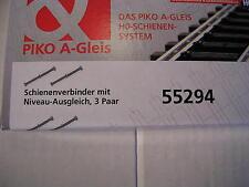 PIKO 55294 Schienenverbinder mit Niveauausgleich
