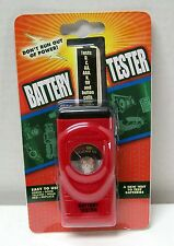 Ulta-Lit Battery Checker Tester NEW D,C,AA,AAA,9V,Button Cells FREE Ship To USA