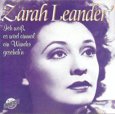 ZARAH LEANDER : ICH WEISS, ES WIRD EINMAL EIN WUNDER GESCHEH'N / CD - NEU