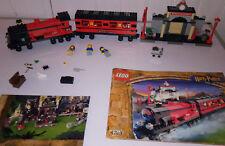 RARE TRAIN Lego Harry Potter Poudlard Express 4708 + GARE COMPLET + NOTICE