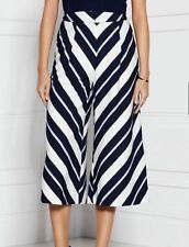 Wide Leg Not Relevant Capri, Cropped Trousers for Women