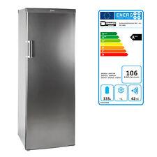Großraumkühlschrank Kühlschrank Standkühlschrank Edelstahloptik DKS 340 l A++