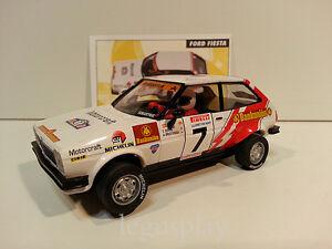 "Slot Scx Scalextric Altaya Ford Fiesta 1600 "" Rallye Mythiques "" Brustenga /"