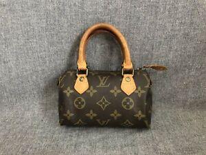 Authentic Louis Vuitton Hand Bag Mini speedy M41534 old moldel