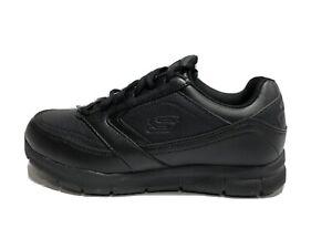 Skechers Women's Nampa Wyola, Black Sneakers, Size 8 Wide.