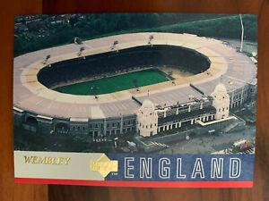 1997 Upper Deck England Soccer Card - WEMBLEY STADIUM Mint