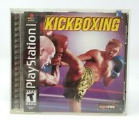Kickboxing Sony PlayStation 1 PS1 PSX Game