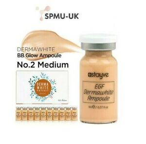 DERMA WHITE Stayve UK Ampoule Foundation BB Serum MTS MESO No2 Medium