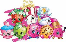 Shopkins Edible Party Cake Image Topper Frosting Icing Sheet