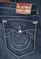 True Religion Boot Cut ,Straight Leg Men's Blue Black Jeans 29 31 33 34 36 38 42