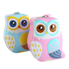Cute Piggy Bank Children Creative Owl Piggy Bank Boy Girl Gift Prize NC