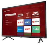 "TCL 32"" Smart TV 720p 60Hz Roku Smart LED HDTV HDMI, Alexa & Google Assistant"