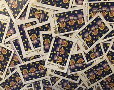 100 x UNFRANKED 2nd/SECOND CLASS XMAS STAMPS ON PAPER - FACE VALUE £58