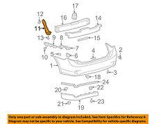 TOYOTA OEM 09-13 Corolla Rear Bumper-Side Seal Left 5259202170