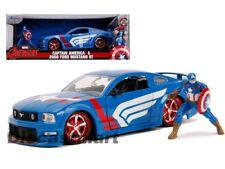 2006 Ford Mustang GT figura Capitan America 1 24 Jada Toys 31187
