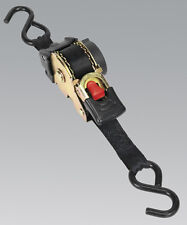 Sealey ATD25301 Auto Retractable Ratchet Tie Down 25mm x 3mtr