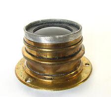 """Antique Goerz Pantar 14""""(350mm) F6.3 Convertible Brass Lens"""