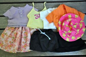 """Lot of 8 Clothes for 18"""" American Girl, OG and the Same Size Other Dolls"""