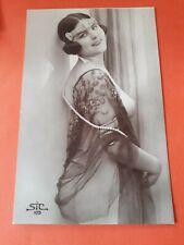 Risque erotic postcard genuine original RP by SIC no 105
