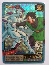 "Dragon Ball Z Super Battle ""Power Level"" Carddass Prism #535 Gohan Freeza"