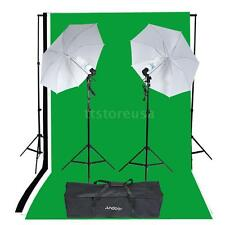 Photography Studio Portrait Product Lighting Tent Kit Photo Video Equipment P1D8
