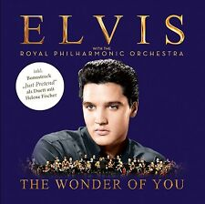 THE WONDER OF YOU: ELVIS PRESLEY WITH THE ROYAL PHILHARMONIC ORCHESTRA  CD NEUF