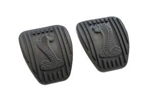 1994-2004 Ford Mustang SVT Clutch & Brake Pedal Rubber Pads w/ Cobra Snake Logo