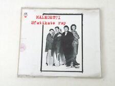 MALEDETTI - SFATIKATO RAP - RARO CD SINGOLO 1994 ITALY - 2 TRACKS - EX-/EX-